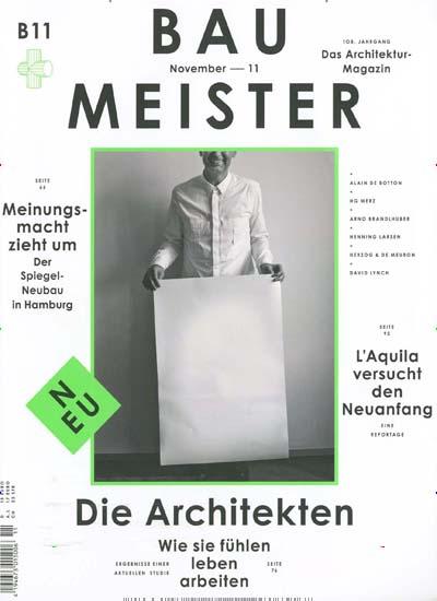 Architektur Magazin callwey relauncht architektur magazin baumeister