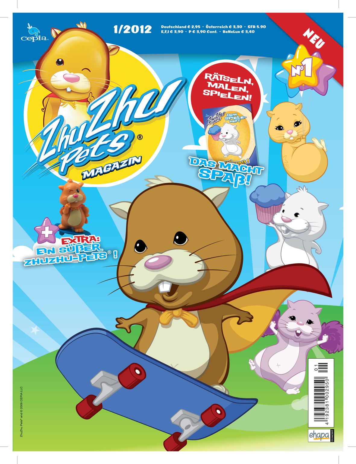Egmont Ehapa Launcht Toy Story Magazin: Egmont Ehapa Möchte Mit Hamstern Kinderzimmer Erobern