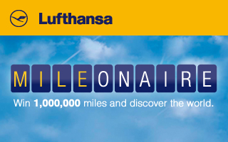 Eine Million Meilen verteilt Lufthansa via Facebook
