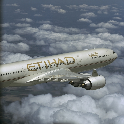 "Etihad warb zuletzt mit dem Slogan ""From Abu Dhabi to the world"""