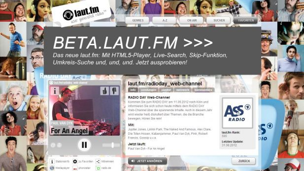 Ab sofort on Air: Der Webchannel von AS&S Radio zum Radio Day