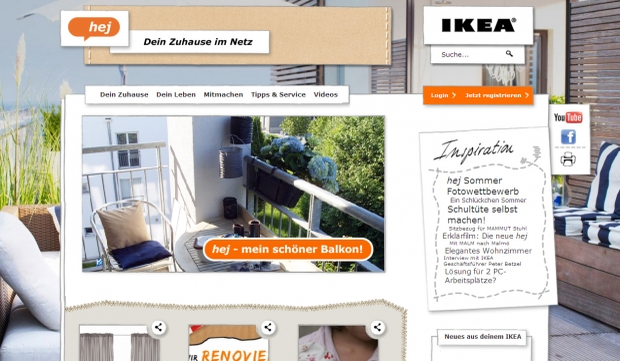 ogilvy verpasst ikea community neuen anstrich. Black Bedroom Furniture Sets. Home Design Ideas