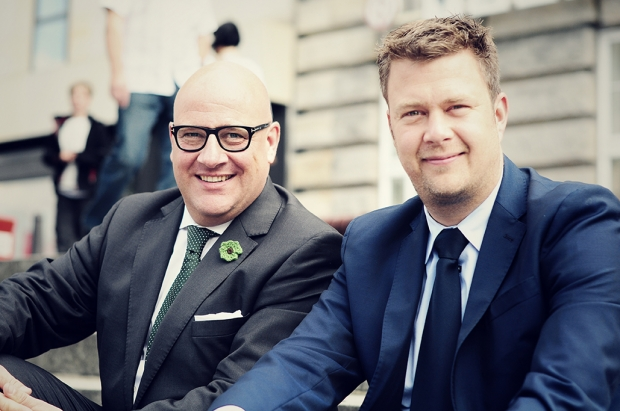 Christian Gummig (links) und Agenturpartner Stephan Garbe