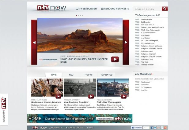 N Tv Startet Video On Demand Portal N Tv Now