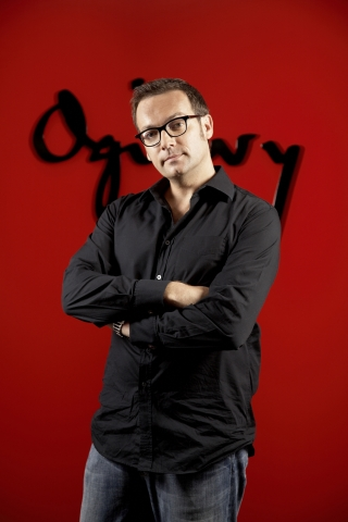 Verantwortlich bei Ogilvy & Mather Advertising: Kreativchef Stephan Vogel