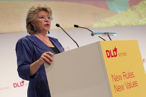 Viviane Reding (Foto: Hubert Burda Media)