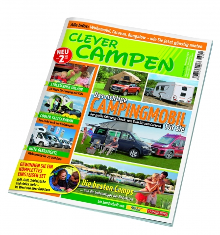 """Clever Campen"" kostet 2,90 Euro"