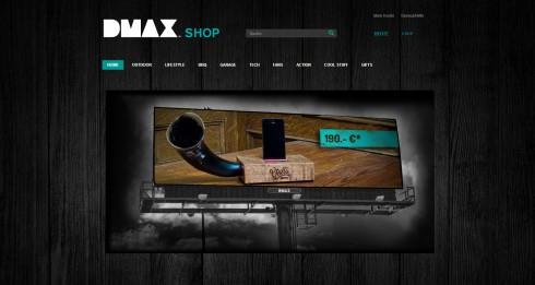papierflieger und sportwagen dmax startet eigenen online shop. Black Bedroom Furniture Sets. Home Design Ideas