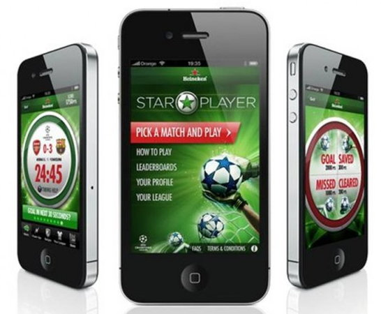 "Heineken und AKQA punkteten mit dem ""Star Player"" in Cannes"