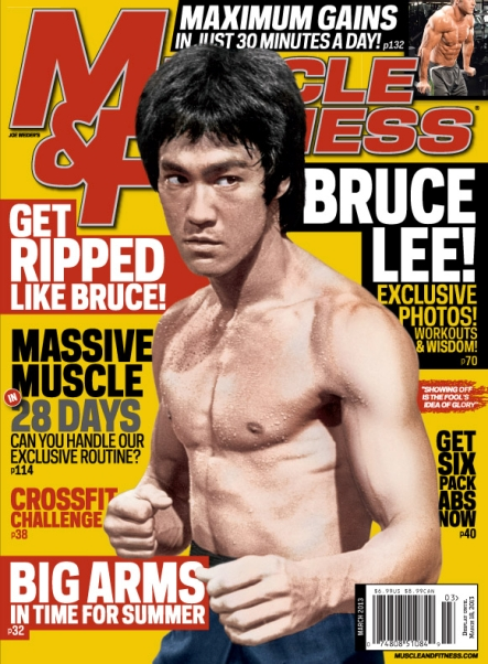 """Muscle & Fitness"" ist die Fitness-Bibel in den USA"