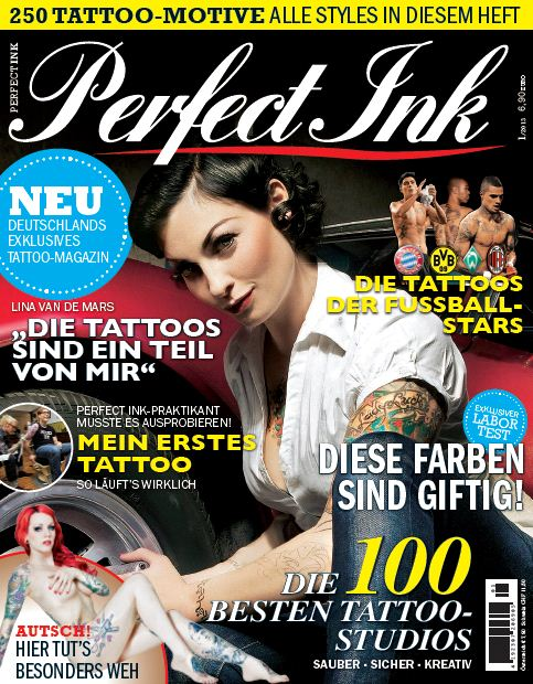 """Perfect Ink"" kostet 6,90 Euro"