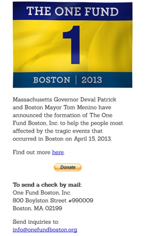 "Screenshot der ""Boston One Fund""-Website."