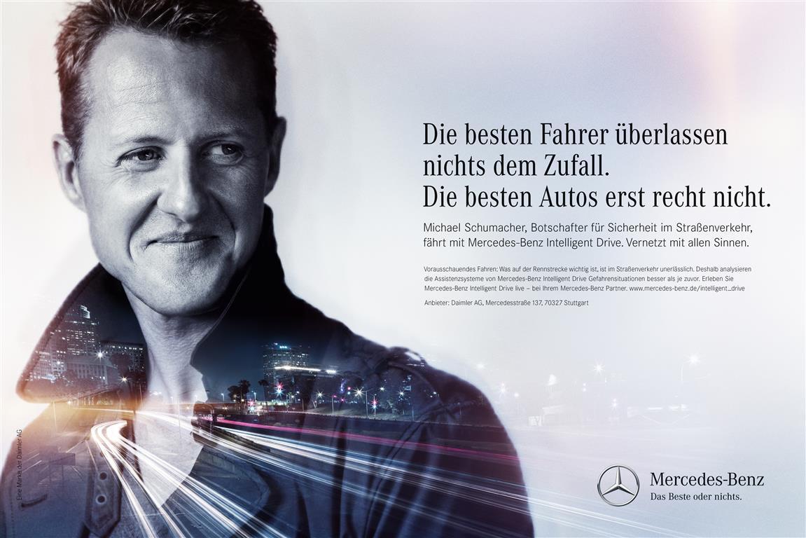 Mercedes Benz Of Warwick >> Mercedes-Kampagne: Was Michael Schumacher mit groovenden Hühnern gemeinsam hat