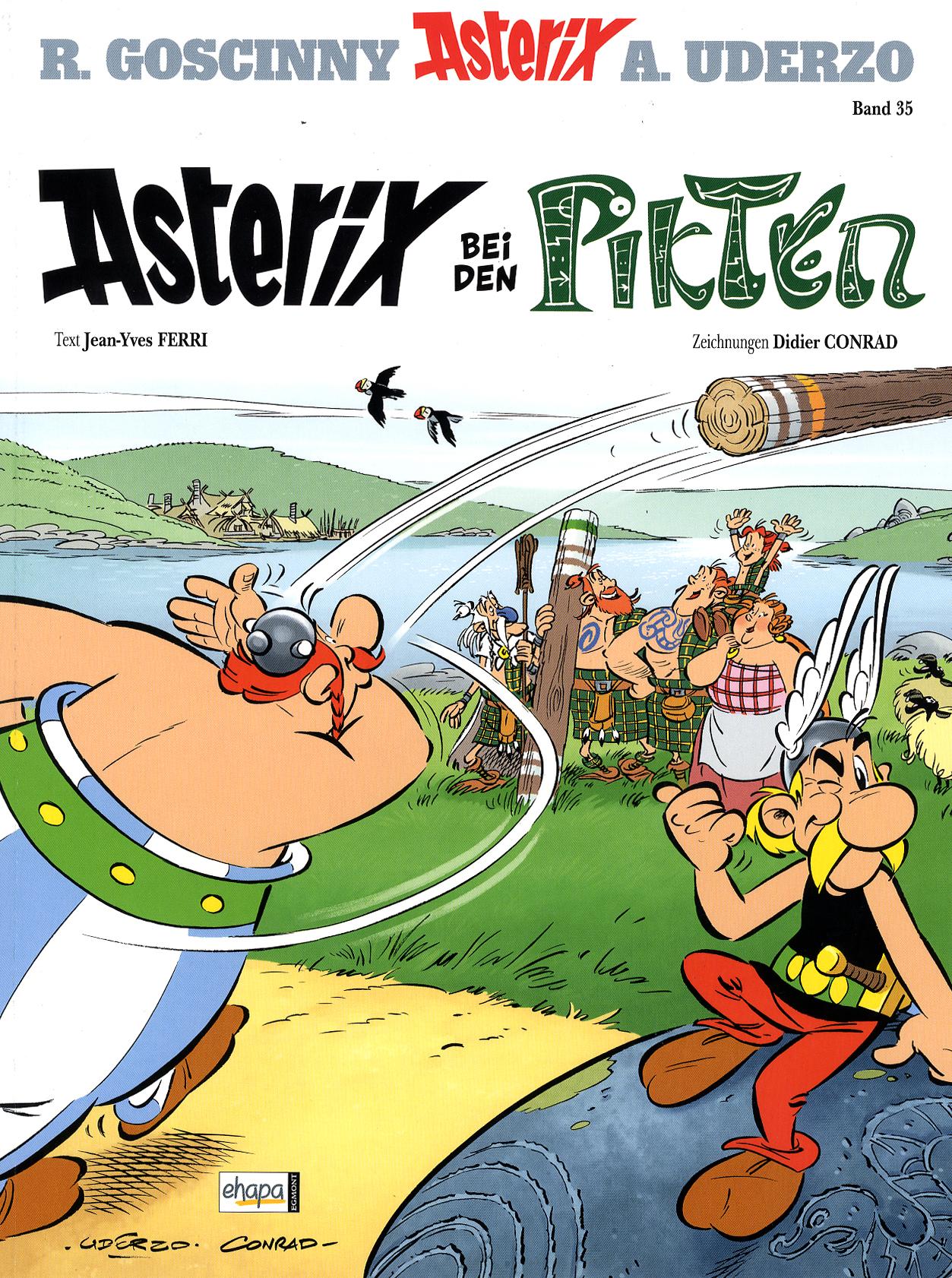 """HORIZONT liest... """"Asterix bei den Pikten"""": Ein"""