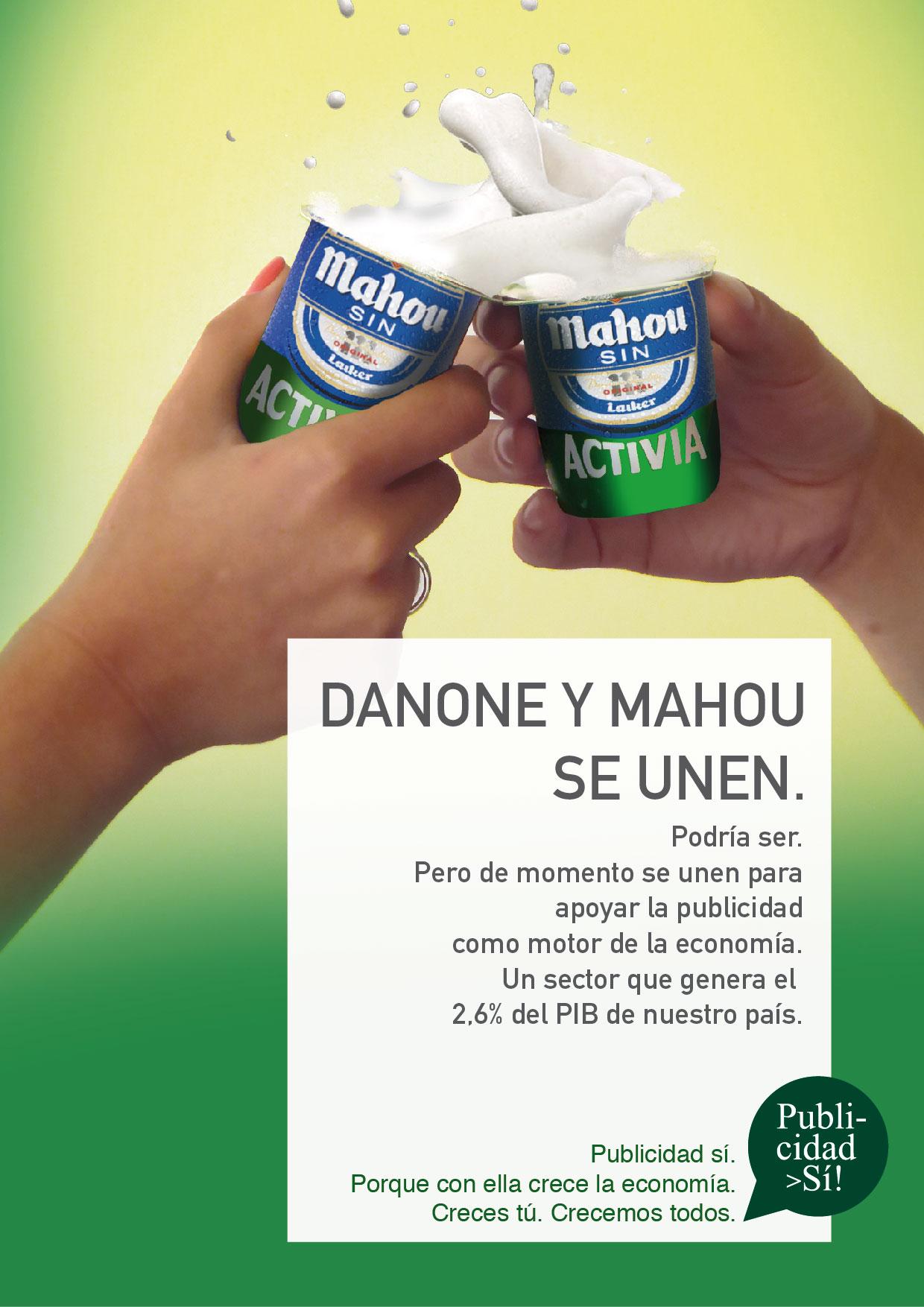 Spanische Werbung