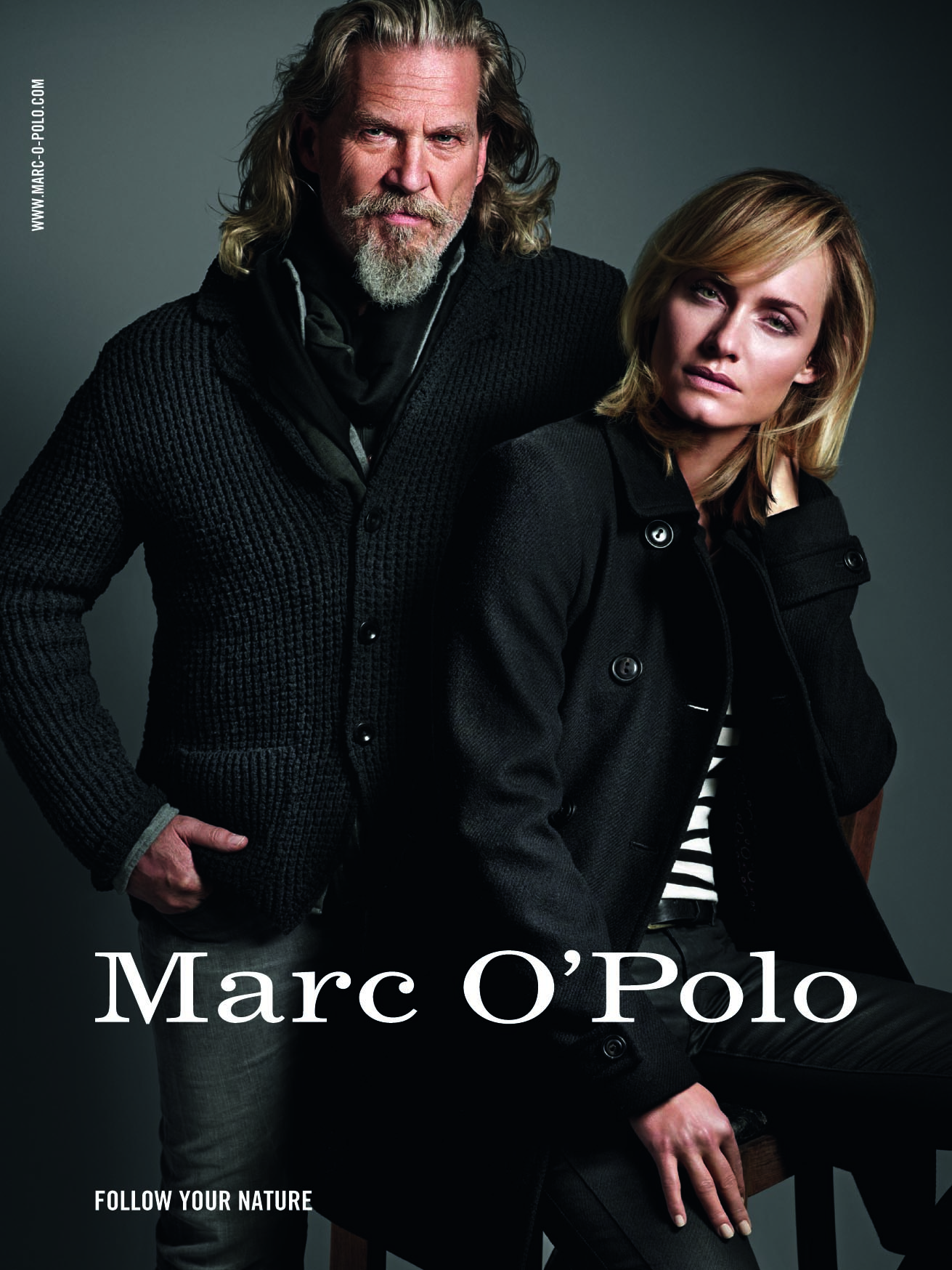mode kampagne marc o polo und jeff bridges wollen sich. Black Bedroom Furniture Sets. Home Design Ideas