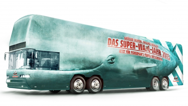 Der Wa(h)lbus von Fisherman's Friend (Foto: Fisherman's Friend)
