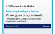 Deckblatt der aktuellen Programmatic-Video-Studie (Foto: Screenshot)