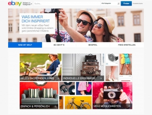 Screenshot des neuen Ebay-Feeds (Bild: Ebay)