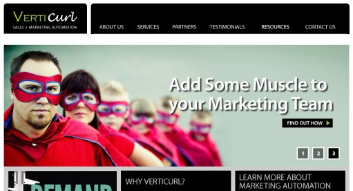 Verticurl ist auf Marketing Automation Services spezialisiert