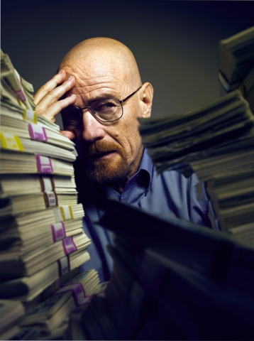"Walter White (Bryan Cranston) ist der Star in ""Breaking Bad"" (Bild: RTL Nitro)"