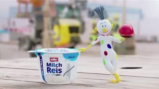 Müller Milchreis Werbung