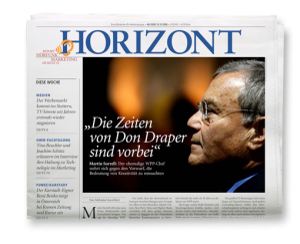 HORIZONT Ausgabe 46/2018