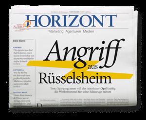HORIZONT-Ausgabe 11/2019