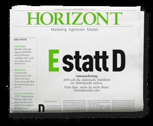 HORIZONT-Ausgabe 16/2019