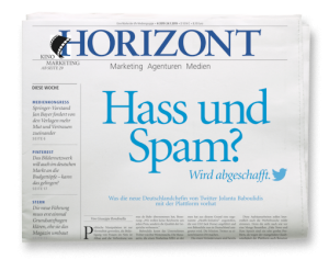 HORIZONT-Ausgabe 4/2019