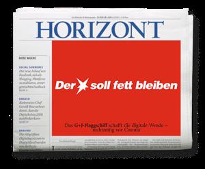 HORIZONT Ausgabe 22/2020