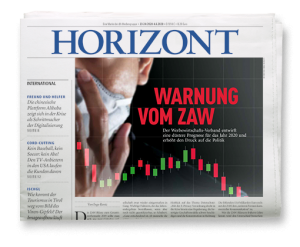 HORIZONT Ausgabe 23-24/2020