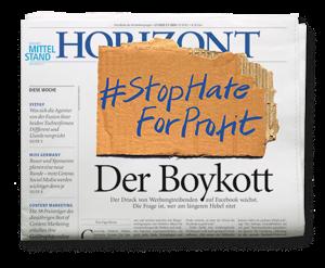 HORIZONT Ausgabe 27/2020