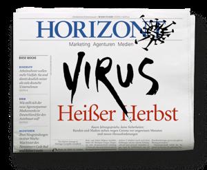 HORIZONT-Ausgabe 38/2020