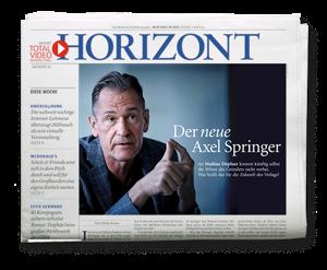 HORIZONT-Ausgabe 40/2020