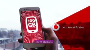 Kampagne: Vodafone GigaBoost