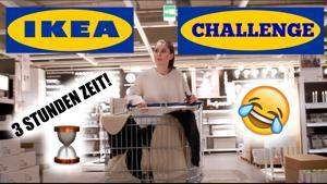 Kampagne: IKEA CHALLENGE: WOHNZIMMER EINRICHTEN in 3 STUNDEN!  mit AlexiBexi