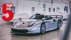 Kampagne: Porsche Top 5 series – Rare Porsche factory models.