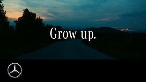 Kampagne:  Grow up. Trailer – Mercedes-Benz original.