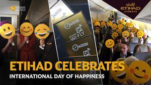 Kampagne: Etihad: International Day of Happiness