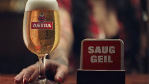 Kampagne: Astra: Saug geil
