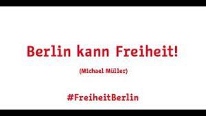 Kampagne: Be Berlin #FreiheitBerlin