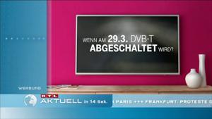 Kampagne: Telekom Entertain TV Spot - DVB-T Abschaltung
