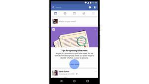 Kampagne: Facebook: Neues Info-Tool gegen Fake News