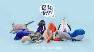 Kampagne: Pollutoys: Plush Toys to Teach Kids about Plastic Pollution