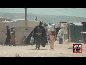 Kampagne: War Child Holland - Batman