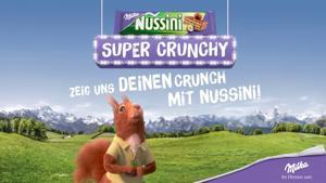Kampagne: Milka Nussini crunch Challenge