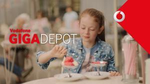 """Kampagne: Vodafone GigaDepot-Spot """"Eis"""""""