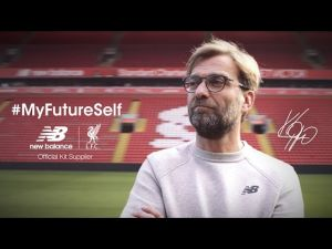Kampagne: New Balance - Partner of LFC | #MyFutureSelf | Accept Challenges: Jürgen Klopp shares his thoughts
