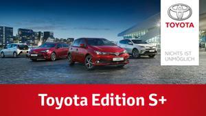 Kampagne: Toyota Edition S+ Sondermodelle